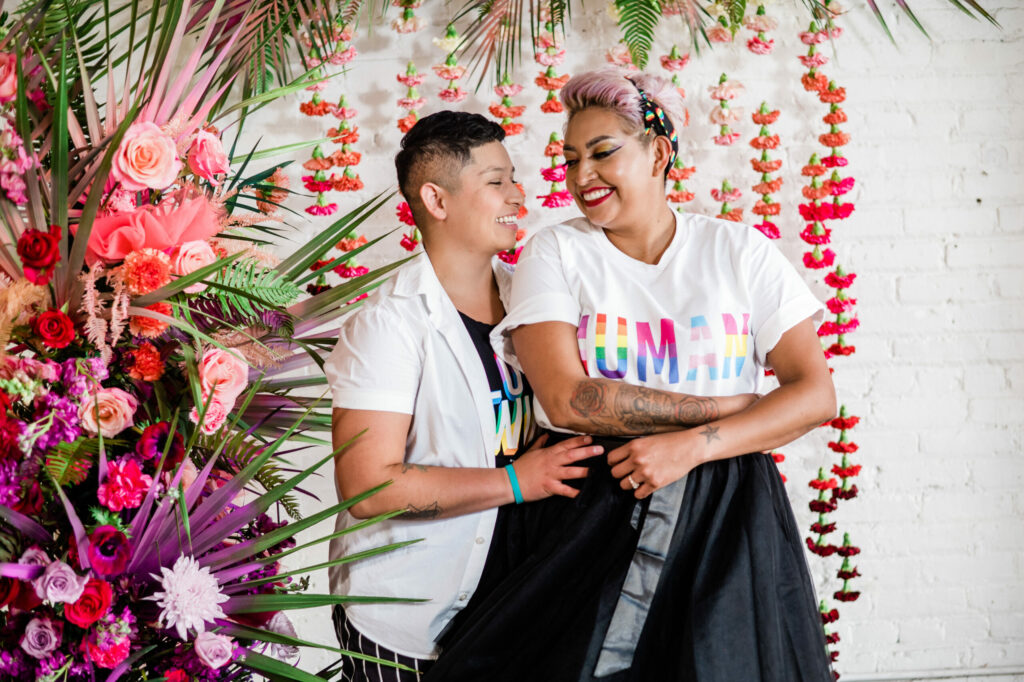 Read more about the article 7 Ways To Embrace LGBTQ+ Pride At Your Wedding